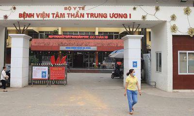 Giám đốc bệnh viện Tâm thần Trung ương I Vương Văn Tịnh bị cách chức