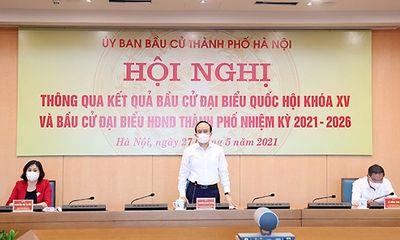 Hà Nội công bố danh sách 95 đại biểu HĐND nhiệm kỳ 2021-2026