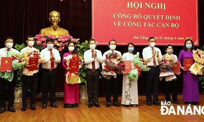 Đà Nẵng: Điều động ông Nguyễn Đình Vĩnh giữ chức Trưởng ban Tổ chức Thành ủy