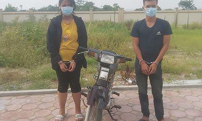 Thiếu nữ 16 tuổi cùng tình nhân vật ngã tài xế xe ôm, cướp xe ở Hà Nội