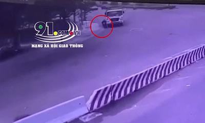Vụ xe ben ôm cua sát vỉa hè, cán tử vong người đàn ông: Camera thu hình ảnh gì?