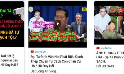 Công an An Giang cảnh báo việc nhiều kênh YouTube mạo danh Đại tá Đinh Văn Nơi