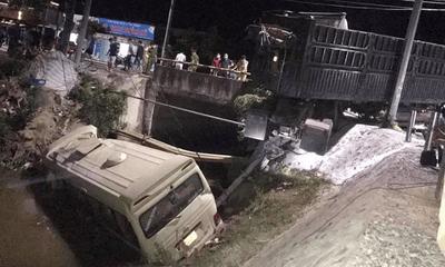 Tin tức tai nạn giao thông ngày 24/6: Xe khách va chạm ô tô đầu kéo, 7 người thương vong