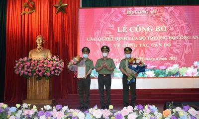 Giám đốc Công an Hưng Yên được điều động làm Cục trưởng Cục Viễn thông và Cơ yếu - bộ Công an