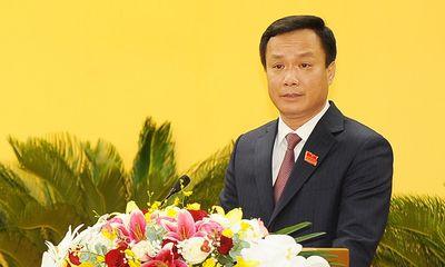 Ông Triệu Thế Hùng được bầu giữ chức Chủ tịch UBND tỉnh Hải Dương