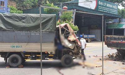 Tin tức tai nạn giao thông ngày 5/7: Chồng lái ô tô tông vào xe tải đang đỗ, vợ tử vong