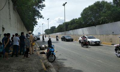Điều tra vụ người phụ nữ tử vong tại đường gom Đại lộ Thăng Long