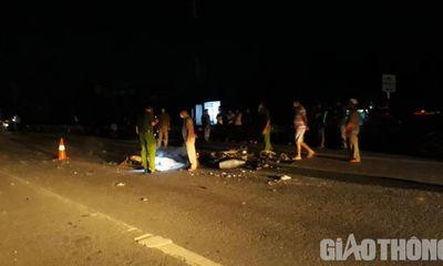 Tin tức tai nạn giao thông ngày 21/7/2021: Xe máy va chạm xe tải cẩu, người đàn ông tử vong tại chỗ