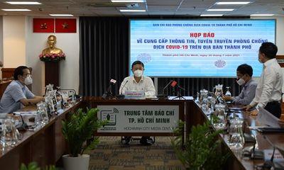 Phó chủ tịch UBND TP.HCM: Số ca F0 trên biểu đồ dịch đang đi ngang