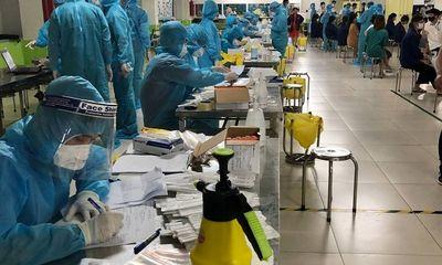 Bắc Giang: Lấy mẫu hơn xét nghiệm COVID-19 cho hơn 10.000 lao động ngay trong đêm