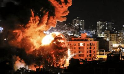 Israel không kích hạ sát chỉ cấp cao của Palestine ở phía bắc Gaza