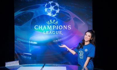 Huyền My khoe nhan sắc cuốn hút, vỡ oà hạnh phúc khi Chelsea vô địch Champions League