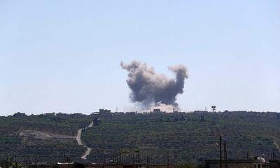 Tình hình chiến sự Syria ngày 3/6:Israel làm nổ tung trạm quan sát Syria