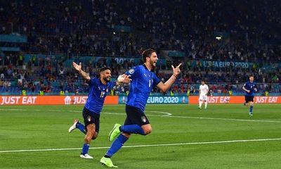 Kết quả EURO 2020 Italy - Thụy Sĩ: Sức mạnh màu thiên thanh