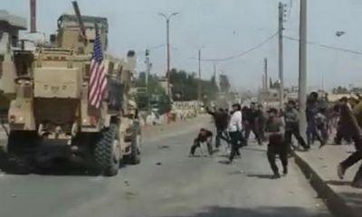 Tình hình chiến sự Syria mới nhất ngày 18/6:Dân thường Syria tấn công quân đội Mỹ