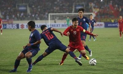 Tuyển Việt Nam tạo khoảng cách lớn chưa từng có trước Thái Lan trên bảng xếp hạng FIFA