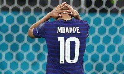 Kylian Mbappe thất bại thảm hại tại EURO 2020: