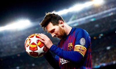 Messi chính thức trở thành cầu thủ tự do