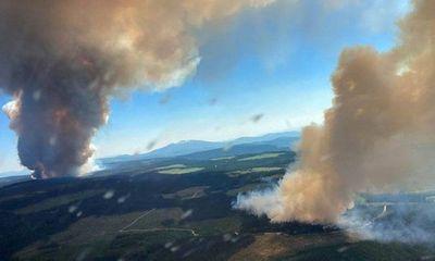 Quân đội Canada bước vào tình trạng trực chiến do cháy rừng dữ dội vì nắng nóng kỷ lục