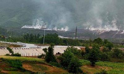 Đi tìm lời giải cho bài toán cháy bãi thải mỏ than Nông Sơn
