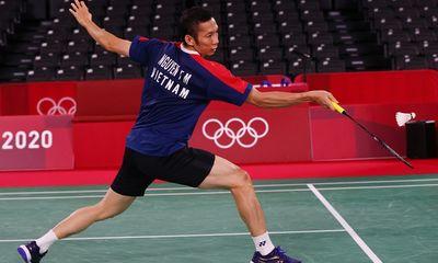 Thua tay vợt trẻ hơn 15 tuổi, Tiến Minh chia tay Olympic Tokyo 2020