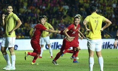 Báo Thái Lan thất vọng vì đội nhà bị Việt Nam vượt quá xa