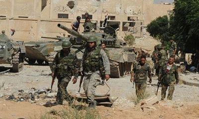 Tình hình chiến sự Syria mới nhất ngày 24/8:Quân đội Syria tấn công thành trì của lực lượng đối lập