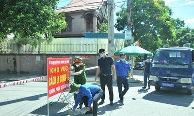 Nghệ An: Tạm đình chỉ loạt lãnh đạo xã vì để lây lan dịch COVID-19 trong cộng đồng