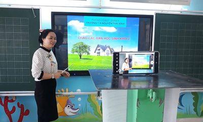 Lịch học trên truyền hình cho học sinh lớp 1, lớp 2 ở TP.HCM