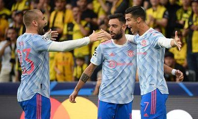 Ronaldo tiếp tục nổ súng, MU vẫn thua sốc trước đội bóng