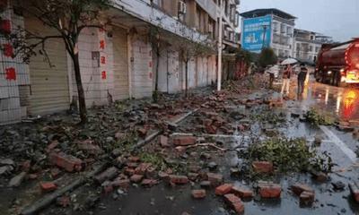 Tin thế giới - Trung Quốc: Động đất 6 độ ở Tứ Xuyên khiến hơn 60 người thương vong