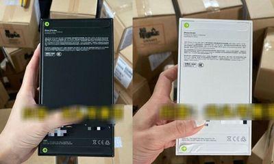 Bùng nổ tranh cãi về cách đóng seal hộp mới của iPhone 13: Phân biệt thật giả?