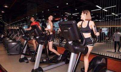 Người dân TP.HCM háo hức khi phòng gym được mở cửa trở lại từ 1/10