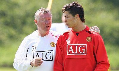 Ronaldo từng bị Sir Alex đuổi khỏi sân vì tập quá nhiều