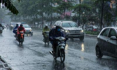 Tin tức dự báo thời tiết hôm nay 10/10/2021: Hà Nội mưa to, nhiệt độ giảm