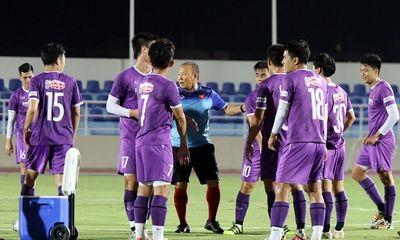 Vòng loại World Cup 2022: Quế Ngọc Hải trở lại, tuyển Việt Nam tráo số áo tập phương án tấn công mới