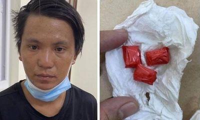 Hà Nội: Trai bản đang tìm chỗ dùng ma túy ở phổ cổ thì bị bắt