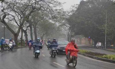 Tin tức dự báo thời tiết hôm nay 21/10:Hà Nội mưa dông và rét