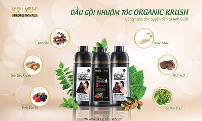 Dầu gội nhuộm tóc organic KRUSH - món quà từ thiên nhiên dành tặng mái tóc