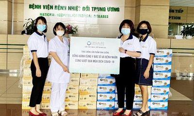 Orgalife trao tặng hơn 1 tỷ đồng sản phẩm dinh dưỡng để tiếp sức cho bệnh nhân và cán bộ y tế tuyến đầu chống dịch Covid-19