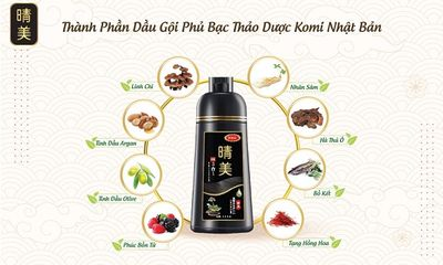 Xã hội - Bí kíp phân biệt dầu gội nhuộm tóc thảo dược Komi chính hãng đến từ Nhật Bản