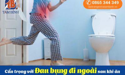 Xã hội - Cẩn trọng với cơn đau bụng đi ngoài sau khi ăn