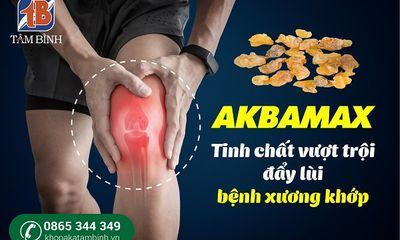 Đột phá mới giúp đẩy lùi bệnh lý xương khớp từ tinh chất AKBAMAX