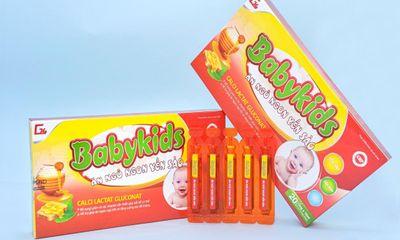 Baby Kids Ăn ngủ ngon yến sào - Lựa chọn vàng cho trẻ nhỏ