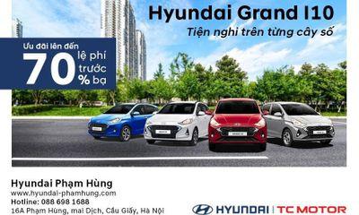 Hyundai Phạm Hùng giảm 70% lệ phí trước bạ