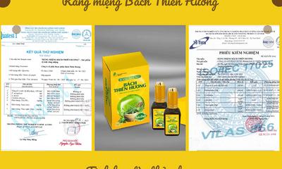 Răng miệng Bách Thiên Hương – Sản phẩm Made in Vietnam, chất lượng quốc tế