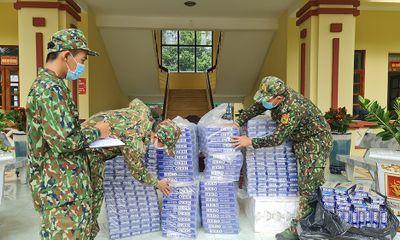 An Giang: Mật phục, thu giữ gần 5.000 gói thuốc lá nhập lậu