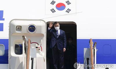 Tổng thống Hàn Quốc Moon Jae-in lên đường tới Mỹ gặp người đồng cấp Joe Biden