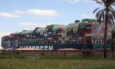 Ban quản lý kênh đào Suez đòi bồi thường 550 triệu USD, chủ tàu Ever Given không đồng ý