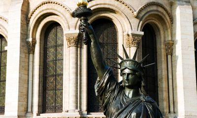 Pháp tặng Mỹ tượng Nữ thần Tự do bản